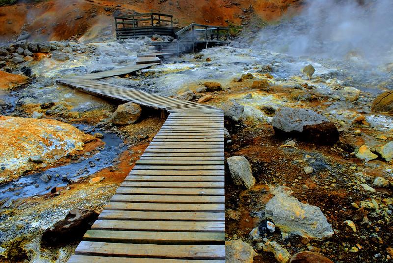 Volcanic hotspot, Iceland