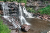 Closeup of Blackwater Falls.