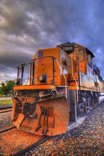 Union Pacific train, Abilene, Texas