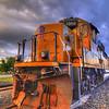 Union Pacific train, Abilene, Texas