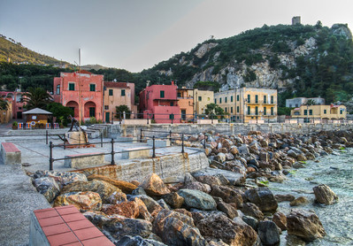 During my 4 months in Italy, I was introduced to the very small village of Varigotti, on the Ligurian seaside, slightly west of Savona and in very much in the heart of the Ligurian winegrowing region. I ventured out of our villa one day, about an hour before the sun crested the horizon and these are some of the images I was able to capture.