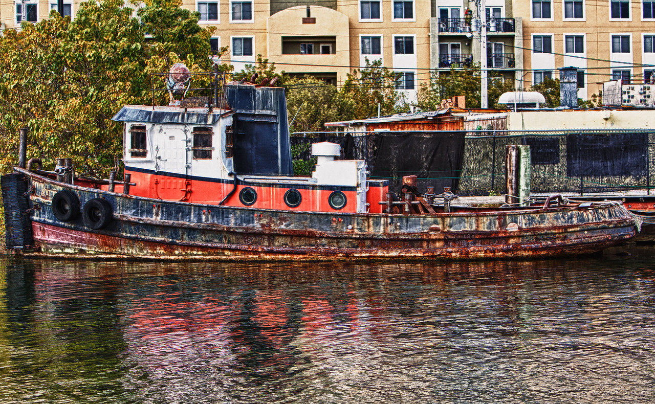 Rusted Tug Miami River