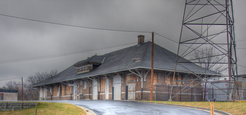 Old Train Station in Cleveland, Tennessee. It is being remodeled and will soon open as the city's transportation office. I've been privileged to hear several stories about this building and the people who worked there. This photo (three photos actually) was processed using Photomatix software. I did some final tweaking using Adobe's Lightroom 3. One final credit - I followed Trey Ratcliff's tutorial on HDR photography (Google his name to find out more).