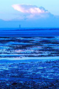 Blue zone at dawn