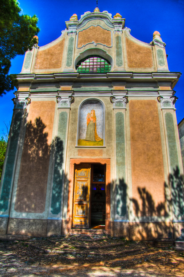 In Verezzi, Liguria, the Chiesa Santa Maria Maddalena