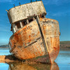 The Point Reyes, an old fishing vesel