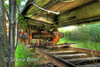 Underside of BC Rail Caboose hdr