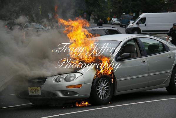 HFD Car Fire- Park Ave 7-15-14