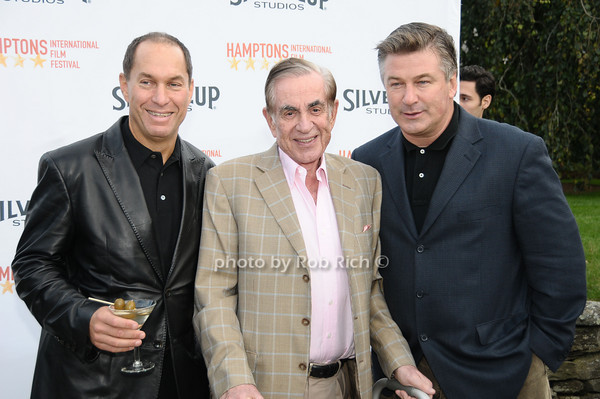 October 10,2009: Stuart Match Suna, Marty Bregman,& Alec Baldwin  attend the HIFF Chairman's reception @ the home of Stuart March Suna a  in Easthampton on October 10, 2009. photo by Rob Rich/SocietyAllure.com