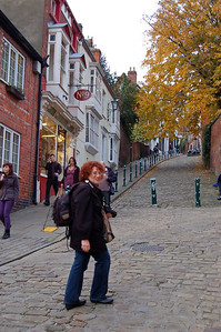 The challenge of Steep Hill!