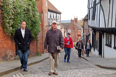 Andrew and Steve on Steep Hill