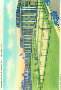 Congress Hall 1920s postcard