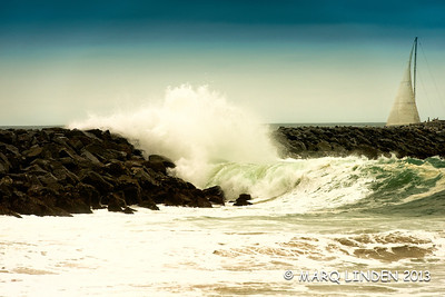 HIgh Surf at The Wedge #7