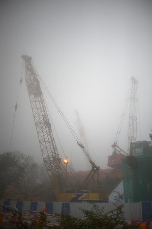 Construction site of the CLP Substation