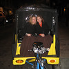 No taxis...so a 45 mi rickshaw ride from Billy Elliott to SoHo.  Bless our driver.