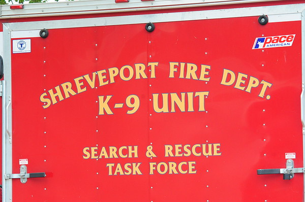 SHREVEPORT FIRE DEPARTMENT K-9 SEARCH AND RESCUE TASK FORCE 9-3-11 THRU 9-4-11