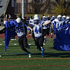 J.S.Carras/The Record  Hoosick Falls against Rye Neck during first quarter of Class C high school state semifinal football action Saturday, November 23, 2013 at Dietz Stadium in Kingston, N.Y..