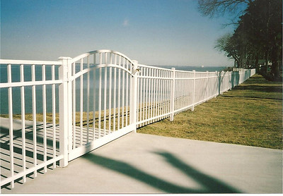 JAMES RIVER FRONT ALUMINUM FENCE