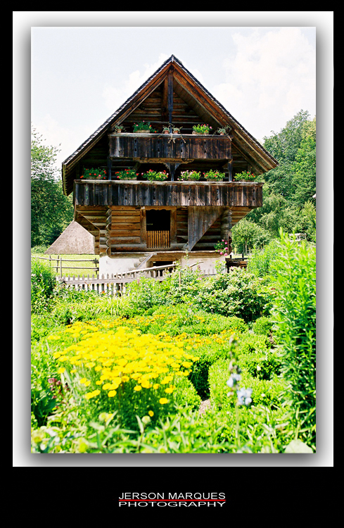 ANCIENT SWISS HOUSE