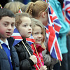 Children of Overton Primary School.
