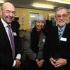 LtoR Tony Curtis Chief executive Basingstoke & Deane, Mrs Chansopha Biermann and Cllr Martin Biermann.