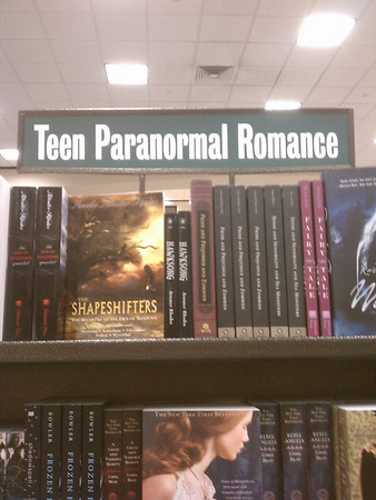 Teen Paranormal Romance, Really?