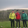 Smiling faces along Hadrian's wall.