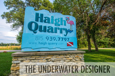 Haigh Quarry is flocked with flamingoes and sports the theme, The Caribbean of the Midwest.