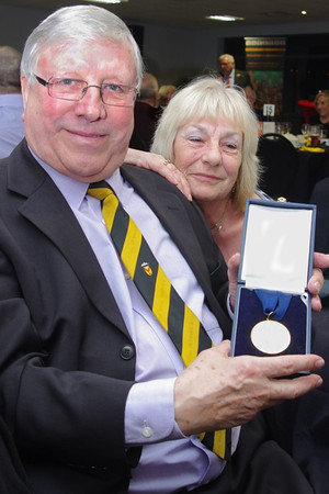 Hall of Fame 2013 Andrew Coombs 6N winners medal