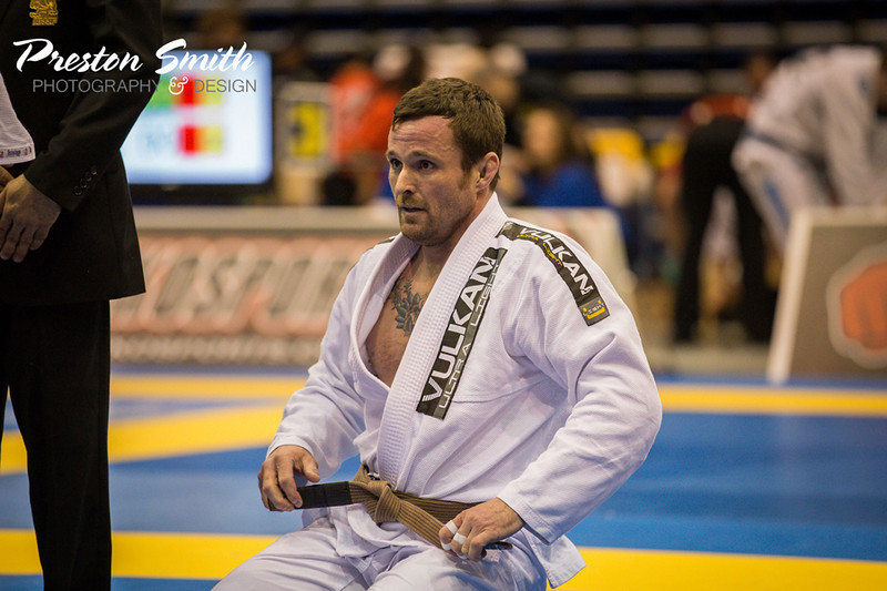 """<h3> <font><b>  Richard Graeff, Belleville, Illinois  </b></font> <br><br> Richard Graeff has been involved in some type of martial arts since the age of 5. He also wrestled in high school and at the collegiate level. Holds the rank of Sandan (3rd Degree Black Belt) in Matsubayashi Shorin Ryu. Also, trained boxing, muay thai and judo. Once he began training jiu jitsu, he quickly became addicted!  <br><br> Rich's list of accomplishments include:  <br>6x Chicago Open Champion,  <br>4x Pan Am Champion (2010, 2012 and 2013),  <br>Pan Am Silver medalist (2013),  <br>International Champion (2012),  <br>World Champion (2012) and 2-time World Bronze Medalist.  <br><br>Rich also finished the 2012 year as the number ONE purple belt (Senior 2) in the IBJJF rankings. He currently is a brown belt under Nova União black belt Mike Rethmeyer (under Leo Peçanha and Wendell Alexander) and is ranked #2 at brown belt. Rich expects big things this year as he works toward his black belt! You will surely see him at all the big tournaments...Pan Ams, Brazilian Nationals, Worlds, etc!!!  <br><br> A big thank you to talented BJJ Photographer, Preston Smith for allowing me to share his photo until I can take one of my own. Please check out Preston's web site below and show him some support! <br><a href=""""https://www.facebook.com/PrestonSmithPhotographyDesign?fref=ts"""" style=""""color: #CC0033"""">CLICK TO VIEW PRESTON'S WEBSITE!</a> </h3>"""