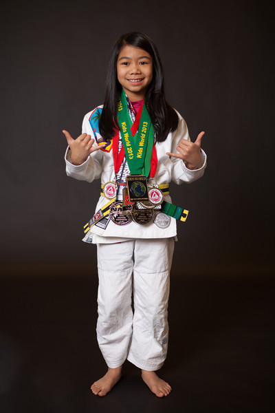 <h3> <font> <b> Jayda Macatangay, Federal Way, WA </b></font>  <br><br>My name is Jayda Ann Macatangay and I am 10 years old. I was born on the island of Guam and moved here right after my 1st birthday.   I started training Jiu Jitsu in 2011 and I love every second of it!  I am currently a yellow/black belt and earned that in May 2012 from Prof Kevin Smith and Prof Shawn Joseph.  I train with my Dad, brother and lots of family at Gracie Barra Federal Way.  I love to compete and always look forward to learning from these competitions.  I hope to show other kids, especially girls that Jiu Jitsu is for everyone.  My favorite Jiu jitsu practitioners are: Prof Fabiana Borges,  Mackenzie Dern, Tracey Goodell and Alyssa Wilson. <br><br>And my favorite mentors are my Coach/dad Jeff and Coach David Veloria. <br><br>  In May   I competed at the Sub League Qualifier 2 tournament and earned a silver medal.   I am looking forward to competing in NAGA in 2 weeks and my first IBJJF Pan Kids tournament in 2014. <br><br> Now that 2013 is officially over, I am excited for everything I will be able to do in 2014. In 2013 I was able to accomplish many goals. I competed in 9 tournaments this year. My first tournament in 2013 was the Ground Warrior Submission Challenge on January 26th. I got 4th place at that tournament which was in Portland, OR. I got 2nd place at Subleague qualifier 2 on May 4th. I placed double bronze at Seattle NAGA on May 18th. I also had the chance of competing in the Adamson bros. in- house tournament on April 27th. I earned a bronze medal at the Revolution on July 14th, one week later I competed at the Kids World tournament and earned a G0LD medal! On Sept. 7th I competed in the Oregon Open and earned a silver medal in a bracket of 4 kids. On Sept. 28th I earned three silver medals at Portland NAGA. 2013 has been a great year full achievements and goals. Now that 2014 has come I'm excited for everything that comes this year. I am especially excited to compete in my first Pan Kids in California in February. 2013 has been a great year!!!</h3>