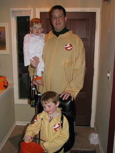 My ghostbusters and my little ghost