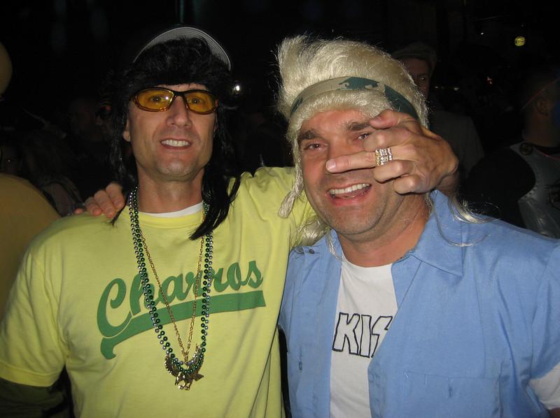 KP and Paul Handley aka Joe Kiss Fan