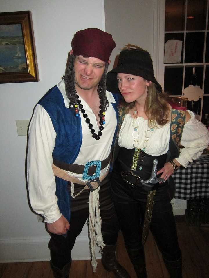 Jack Sparrow and his girl