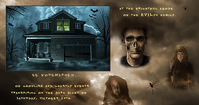 2011 Halloweeen invitation.