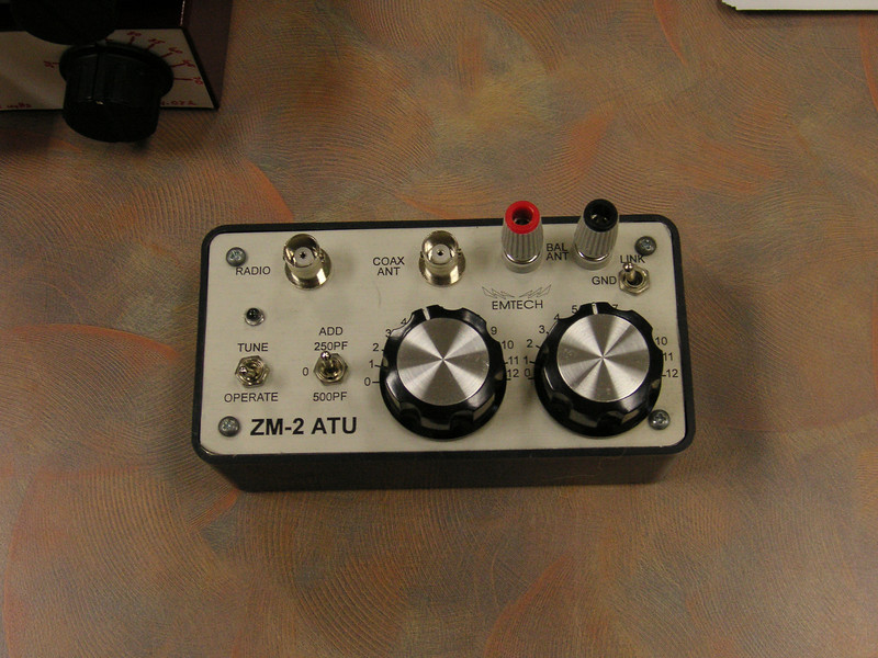 Top view of of the ZM-2 Tuner