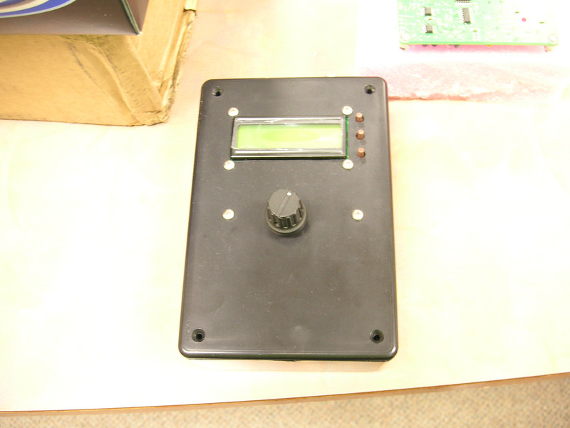 Outside view of the DDS VFO.