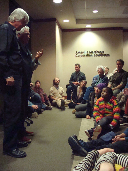 Visiting Asheville, North Carolina<br /> Walking Backward into the Future Story Dialogue with Larry Littlebird