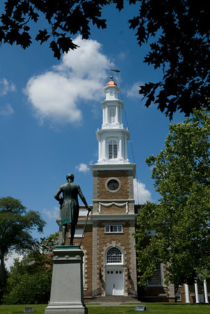 Hamilton College Chapel, Summer Construction Projects, Campus and Root Glen