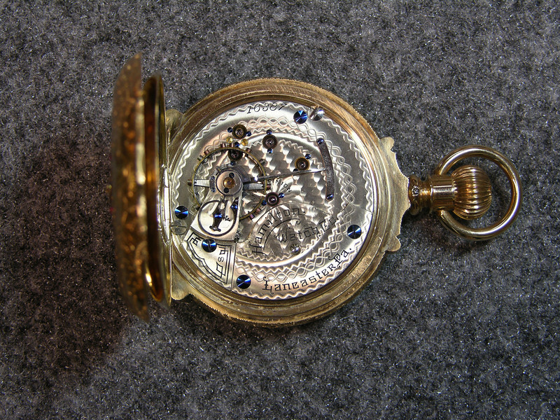 931 movement, 16 jewels                           manufactured 1895-1899                           total production 4,000