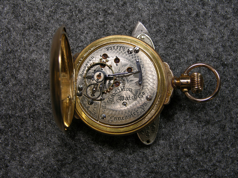 937 movement, SN 231179                        17 jewels, manufactured 1900-1915          total production 4,930