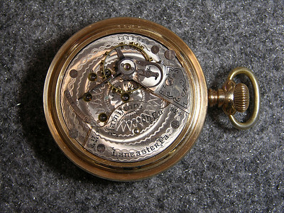 924 movement, 17 jewels                           manufactured 1900-1926                           total production 138,306