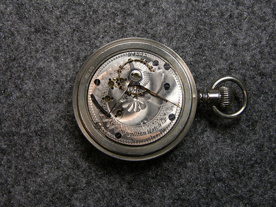 928 movement, SN  94535                         15 jewels, manufactured 1895-1900          total production 4,997