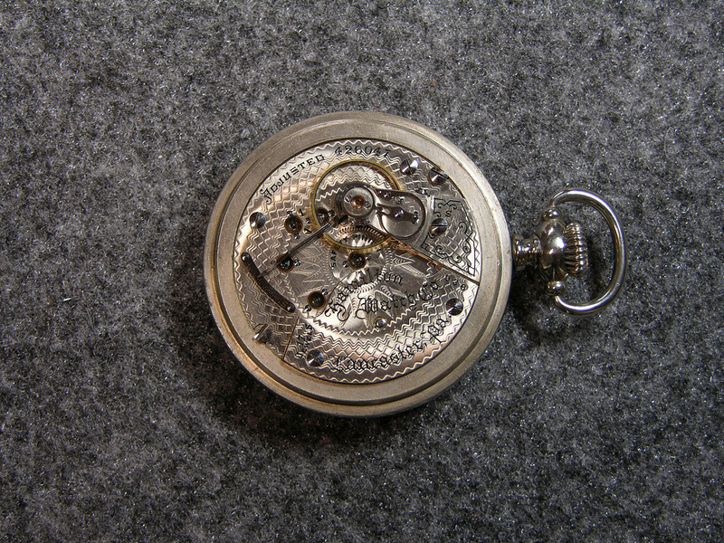 936 movement, SN 426047                        17 jewels, manufactured 1900-1920          total production 18,336