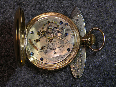 932 movement, SN 68                           17 jewels, manufactured 1893-1895          total production 600 . This watch Was Manufactured In The First Month Of The Hamilton Watch Co.'s Existance.