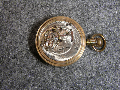 "925 movement, SN 135819                        17 jewel, manufactured 1900-1919           total production 72,020                              ""Buffalo"""