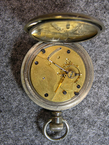 7 Jewel movement, SN 2506, manufactured from 1893 to 1901               total production 1,300