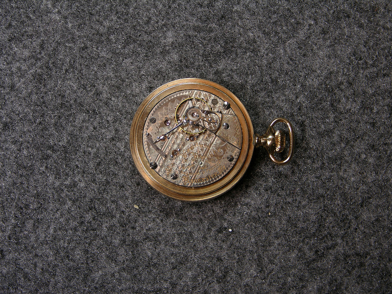 940 movement, SN 913158                        21 jewels, manufactured 1900-1928          total production 205,815