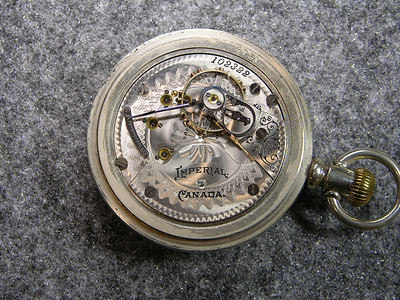 922 movement, SN 102322, 15 jewels       manufactured 1900-1904                           total production 1,171                                Imperial Canada
