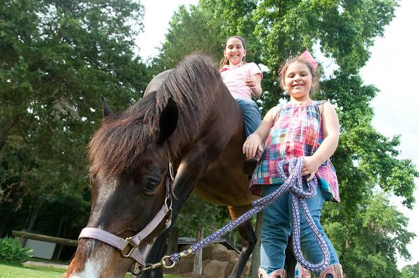 Hamon Family + Horses